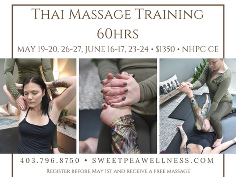 Spring Thai Massage Training