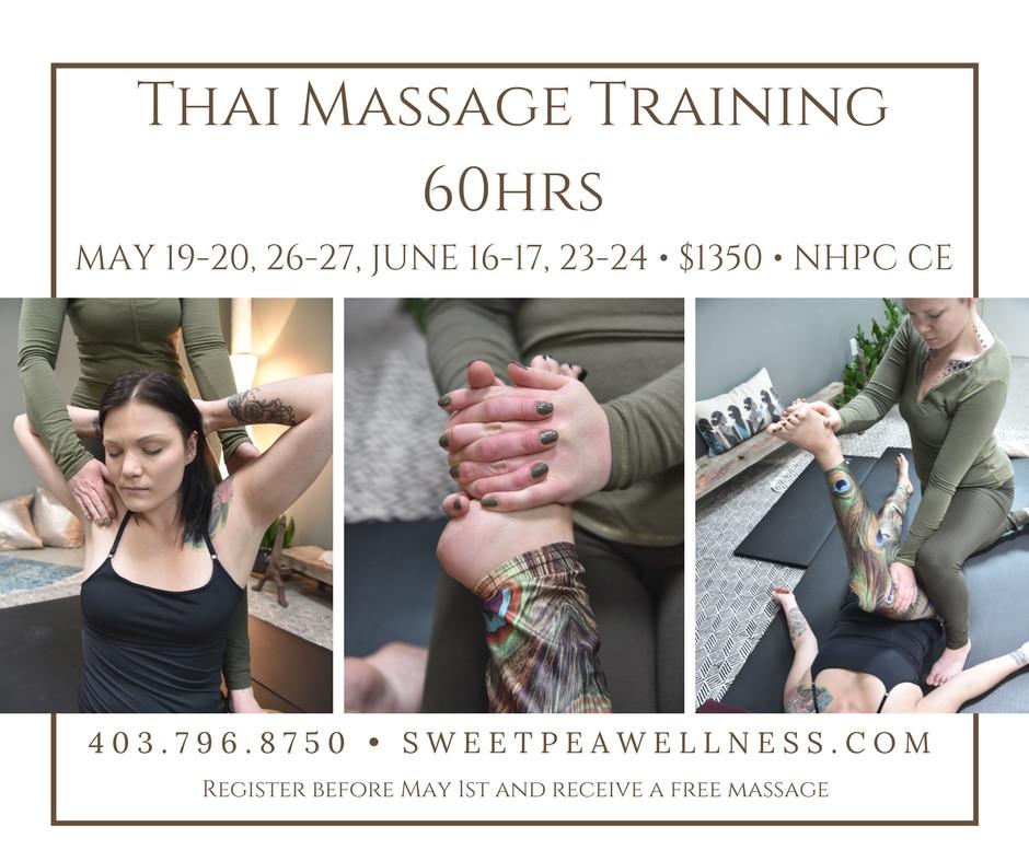 Study Thai Massage in Calgary