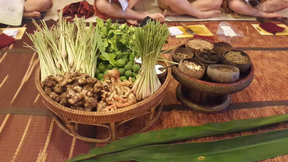 Herbs for Thai Herbal Compress Massage