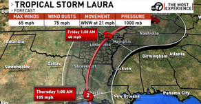 Laura Likely To Visit Arkansas