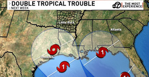 Double Tropical Trouble Next Week