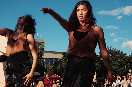 VU - Vibrations urbaines / Louise Bédard Danse