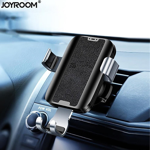 Wireless Qi Car Charger by Joyroom (Gravity Holder for Air Vent)