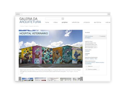 Galeria da Arquitetura | Hospital Veterinário