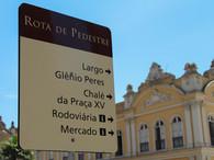 Sinalização Turística de Pedestres Porto Alegre