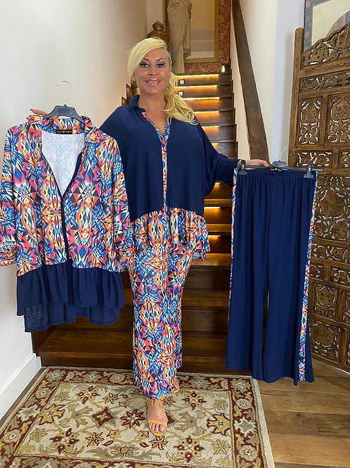 Conjunto pantalón top oversize MC2022.