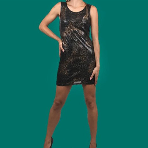 Vestido bronce