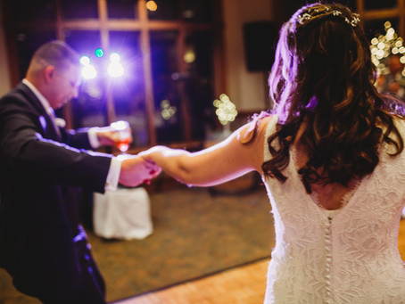 A snowy perfect wedding