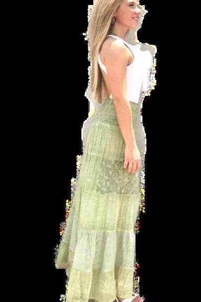 Falda Ibiza verde