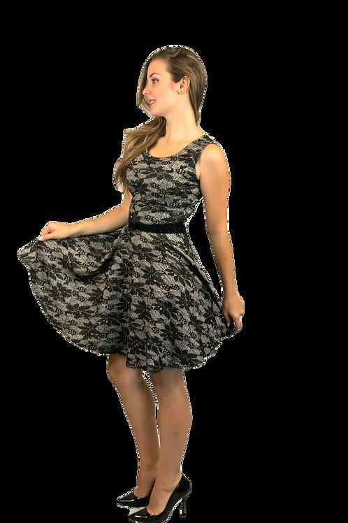 Vestido Vuelo Encaje