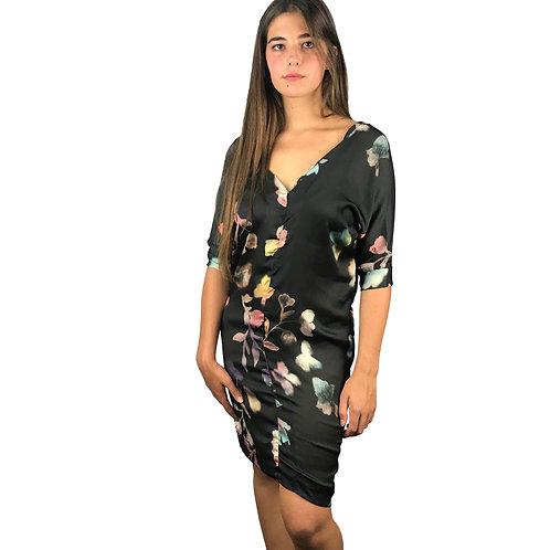 Vestido Diesel print Flores.