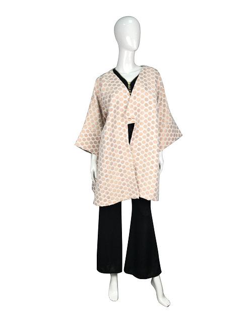 Kimono corto lunares.