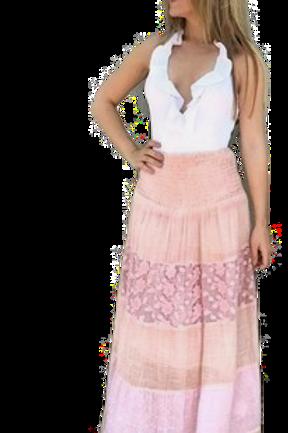 Falda Ibiza Rosa