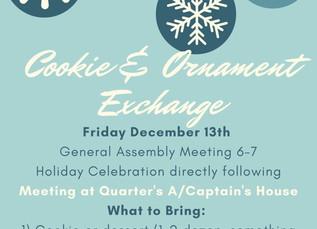 December Meeting Announcement