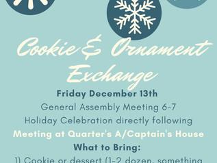 December Meeting Announcement
