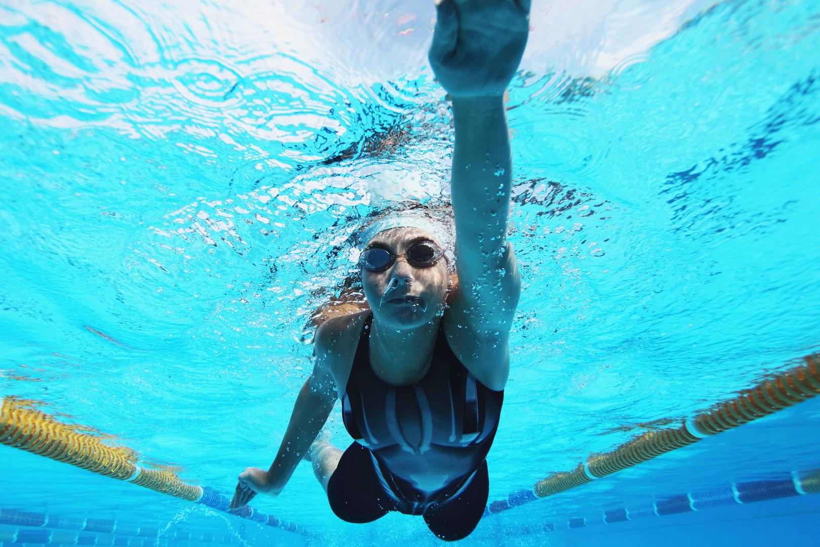 Ideale Bedingungen für Schwimmende.