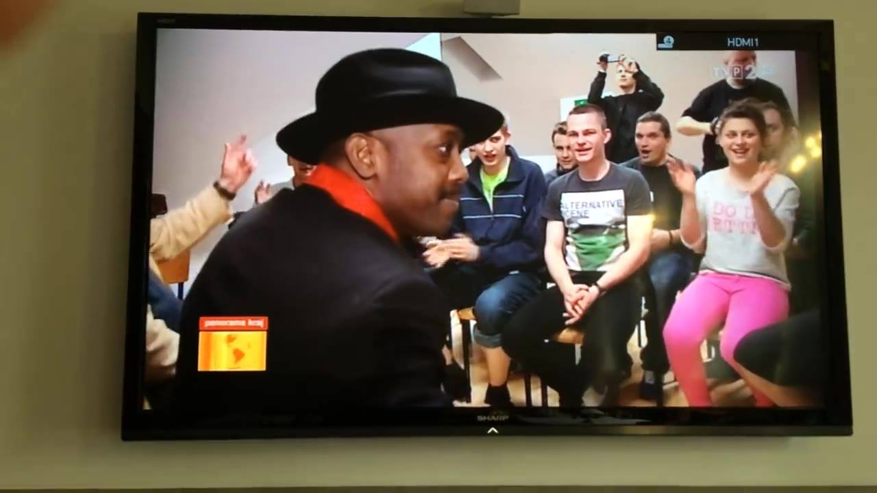 Fernando Jones' Blues Camp in Poland makes national news.