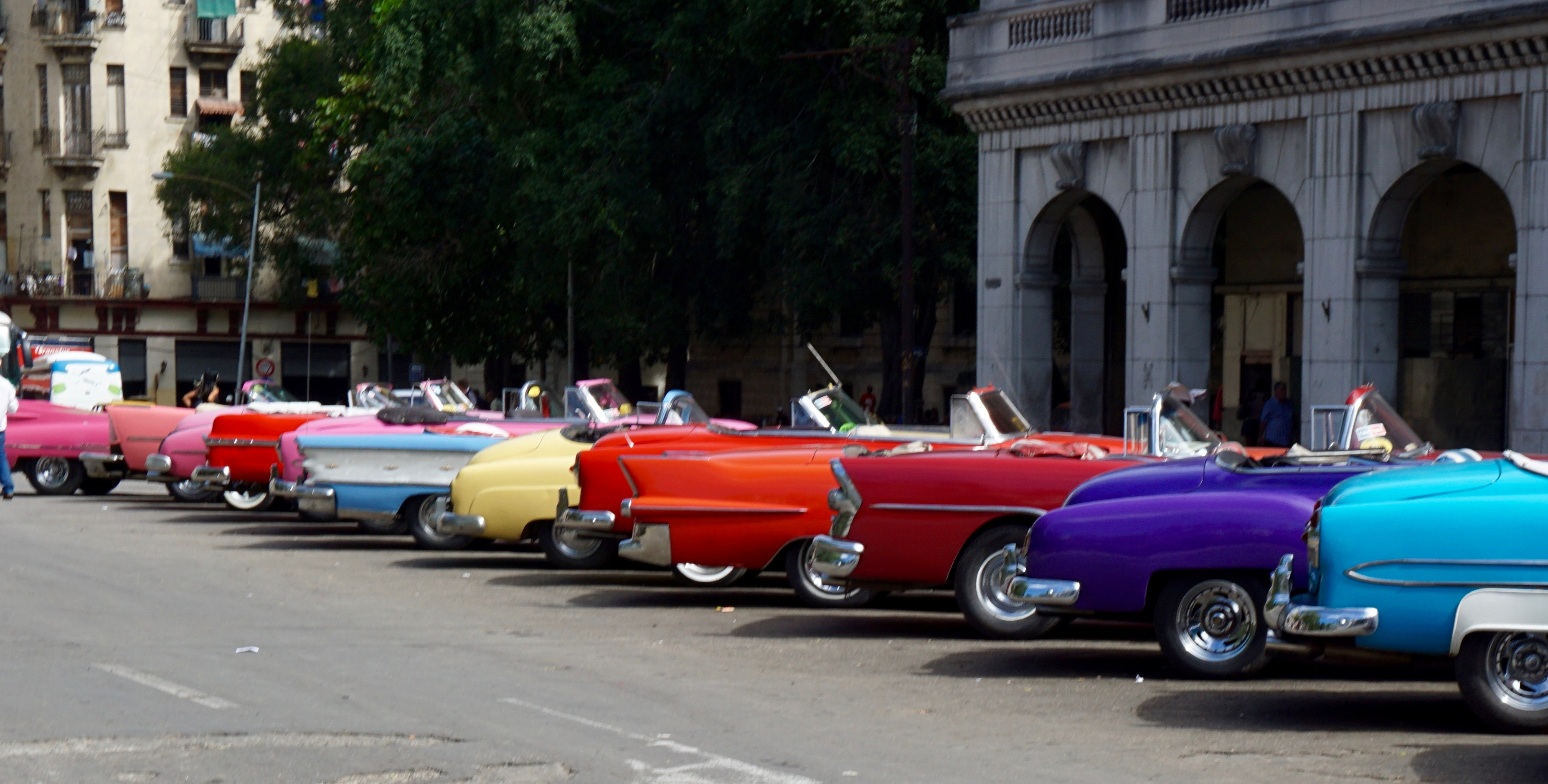 Cars in Havana by Fernando Jones