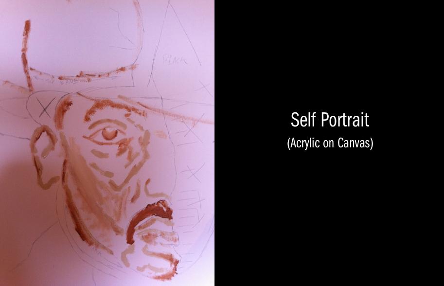 Self Portrait  by Fernando Jones