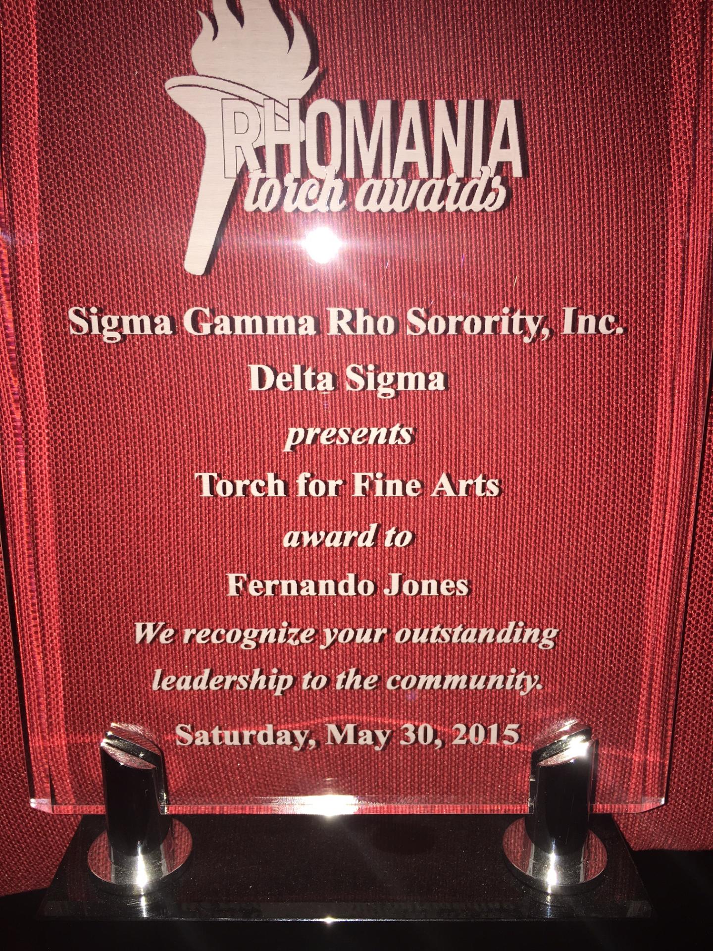 Rhomania Torch Award