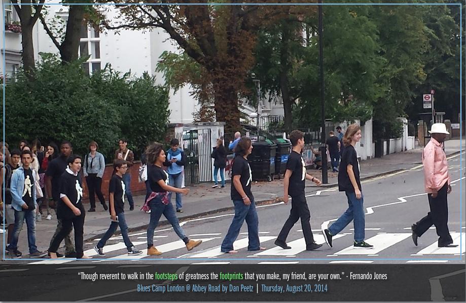Blues Camp Abbey Road by Dan Peetz