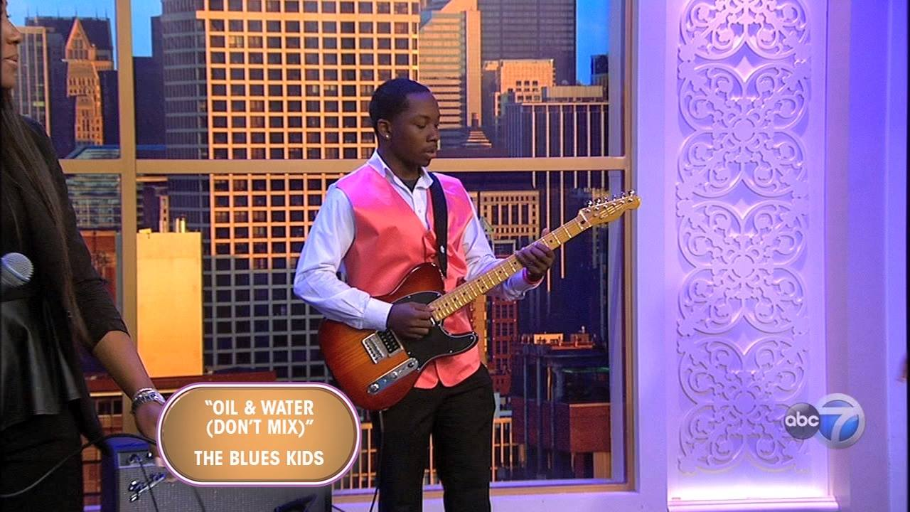 "The Blues Kids Perform ""Oil & Water."""