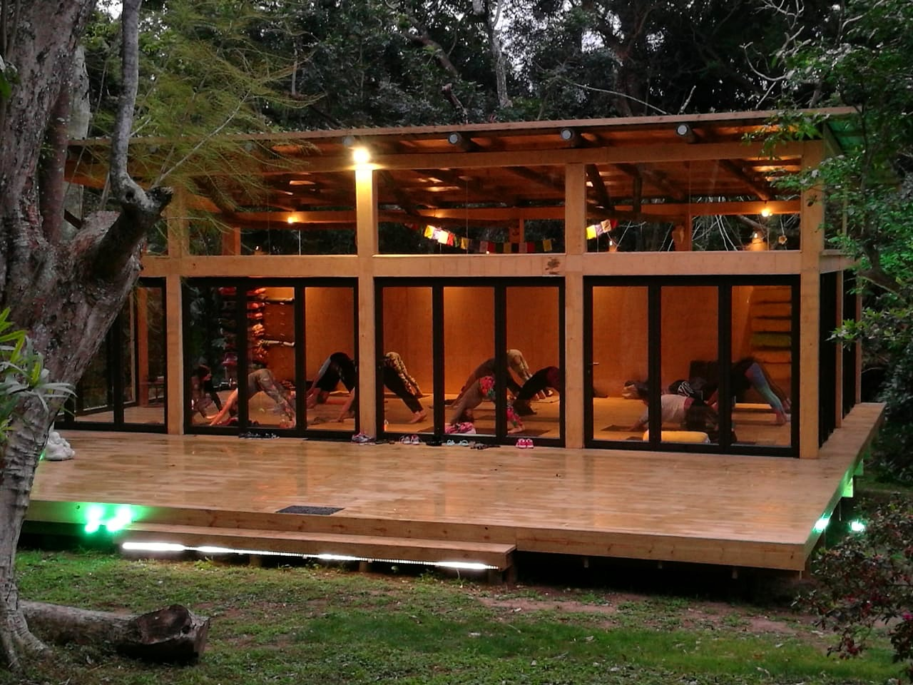 Yoga Shala at Pumula Retreat