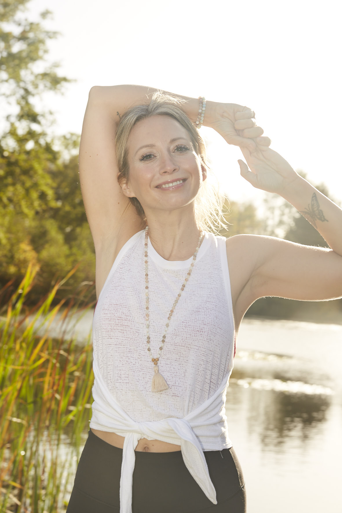 Sandra von Zabiensky Yoga Retreat