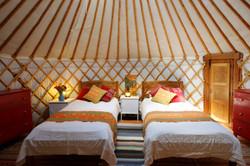 Yurt at Suryalila