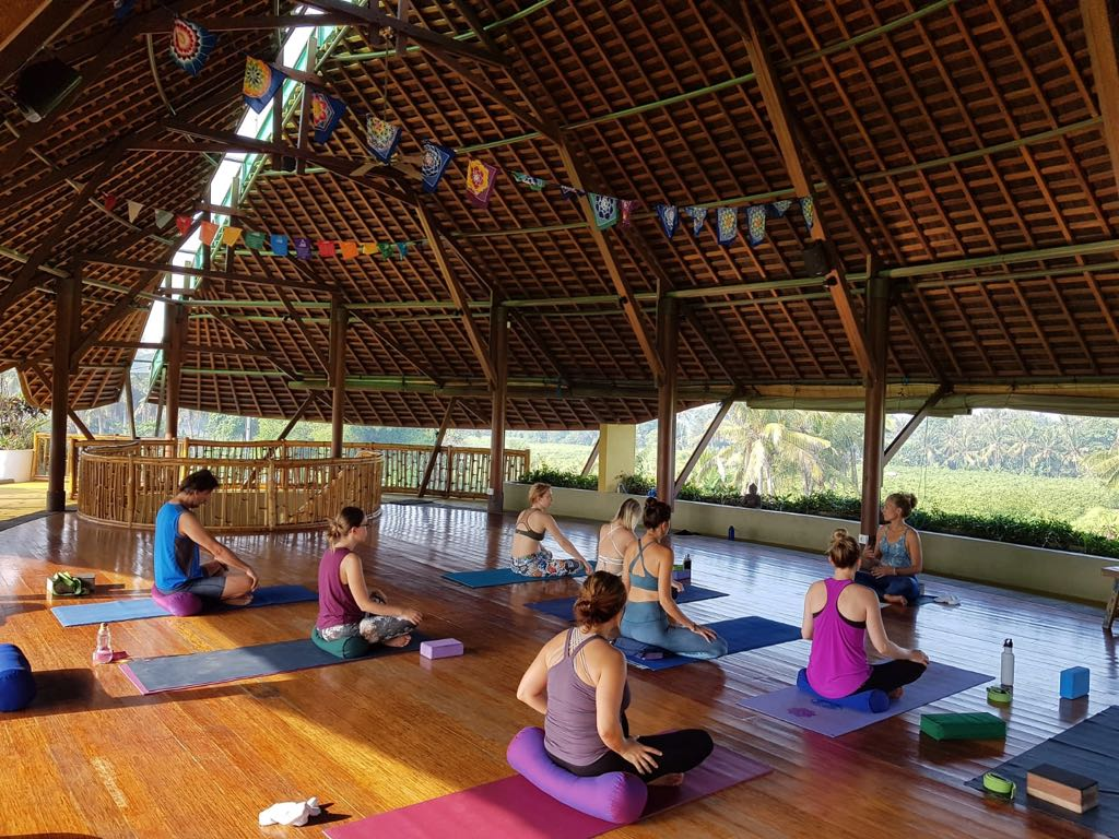 Yoga Class at Floating Leaf