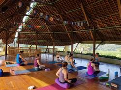 Yoga Class at Floating Leaf