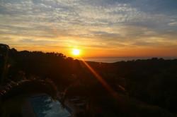 Sunset at Pumula Retreat