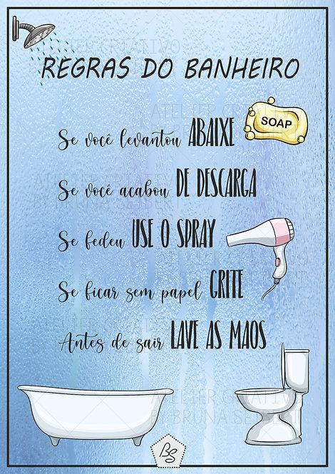 Regras do Banheiro