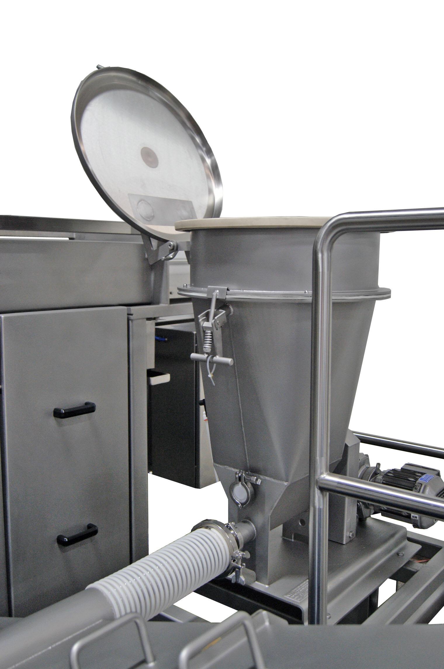 Powder Dispenser: fill mode