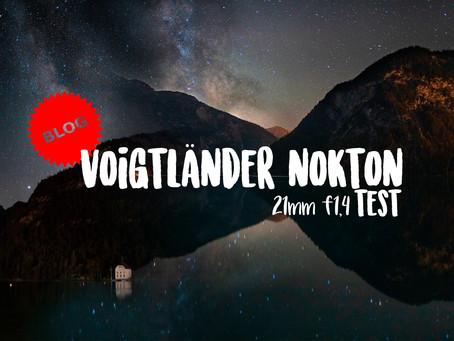 Voigtlaender Nokton 21mm f1,4 - TEST
