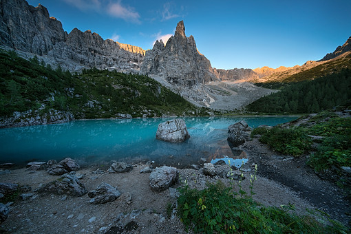 - BLUE LAKE -