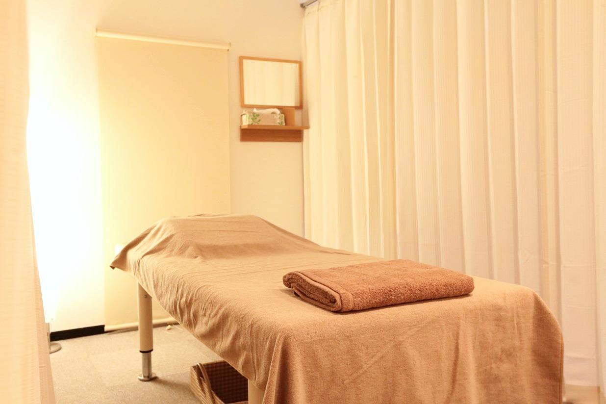 癒しの職人/個室形式の施術スペース