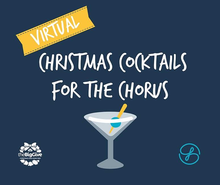 Website Virtual cocktails for the chorus
