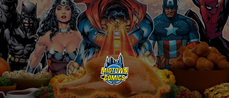 Midtown Comics Black Friday Sale