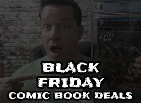 Black Friday & Cyber Monday Comic Book Deals