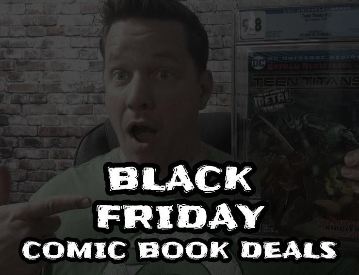 Black Friday Comic Book Deals