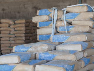 Fabricantes fazem acordo para reduzir peso do saco de cimento