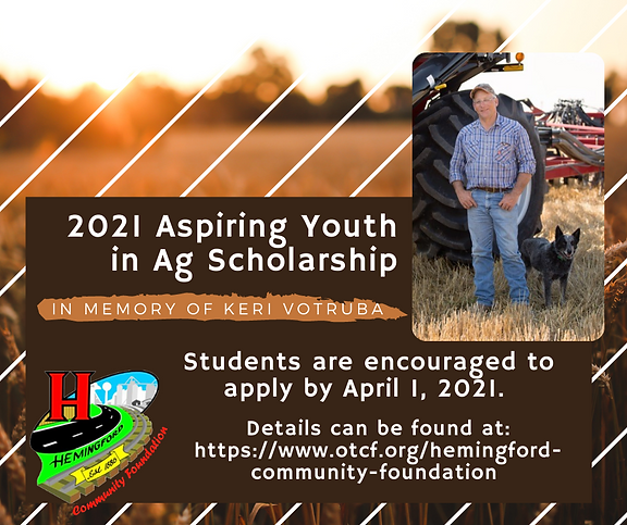 2021 Aspiring Youth in Ag Scholarship.pn