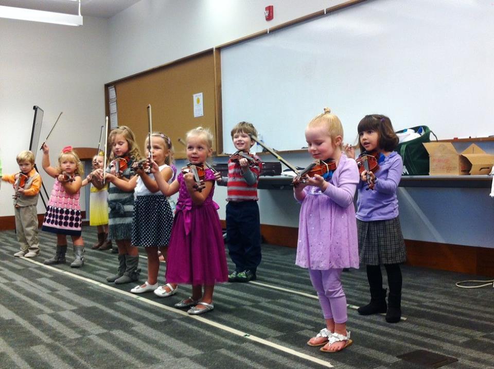 Violin Sprouts