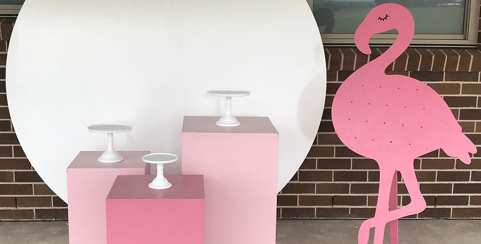Flamingo Donut Wall