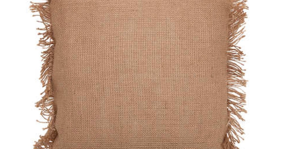 Hessian Cushion