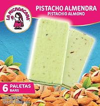 La Michoacana Pistacho Almendra Paletas Pistachio Almond Ice Cream Bars