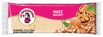 La Michoacana Nuez Paleta Walnut Ice Cream Bar