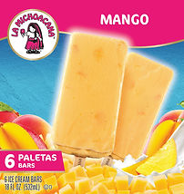 La Michoacana Mango Paleta Ice Cream Bars