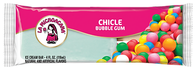 La Michoacana Chicle Paleta Bubblegum Ice Cream Bar